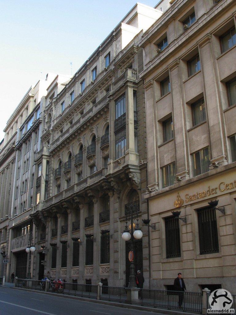 Gu a visual de edificios hist ricos de madrid visual guide to historical buildings in madrid - Pisos santander central hispano ...