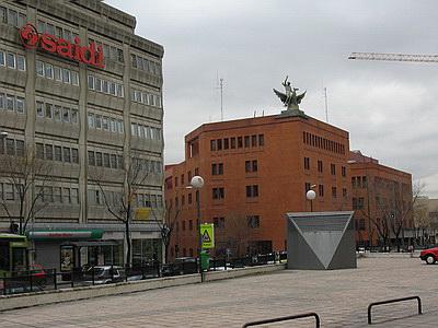 Gu a visual de edificios hist ricos de madrid visual guide to historical buildings in madrid - Oficina hacienda madrid ...